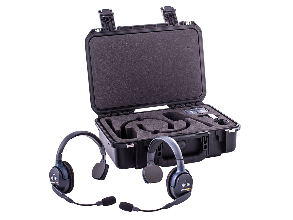 Walkies4Events - UltraLITE intercom-headsets